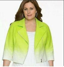 Lane Bryant Ombre Jacket Size 22 Excellent Condition