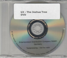U2 The Joshua Tree 2007 UK promo DVD from Deluxe Edition box set