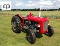 Massey Ferguson 0-99 Series Tractor Workshop Manuals
