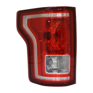 Driver Side Tail Light Assembly for 2015-2017 Ford Pickup F150 166-02713L CAPA