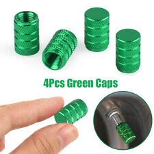 4pc Car Wheel Tyre Valve Stems Air Dust Cover Screw Caps Aluminium Accessories