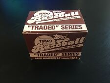 1990 Topps Traded Baseball Complete Series - Factory New