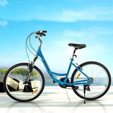 "26"" Women City Road Bike Aluminum 21 Speeds Shimano Bicycle Front Suspension"