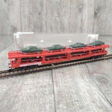 FLEISCHMANN 8296 - Spur N - Doppelstock Autotransporter - DB - OVP - #H32373