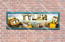 Personalized The Stinky and Dirty Show Name Banner Wall Poster with Frame