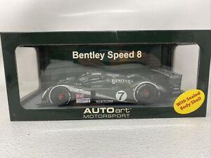 1/18 AUTOart 2003 Bentley Speed 8 LeMans Kristensen Capello Smith 80353