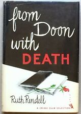 From Doon With Death by Ruth Rendell Hard Bound First US Edition in Dust Jacket