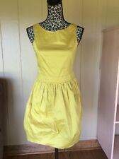 Primark Atmosphere dress mustard lime yellow new skater style UK10/38/US6