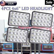 4x CREE For International 9300 9300 Eagle Series Chrome LED Sealed Headlights