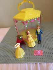 Disney Princess Belle & The B. Polly Pocket With summer House , Clothes & Shoes