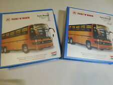 Spectra Bus Parts Manuels Vol. 1 and Vol. 2