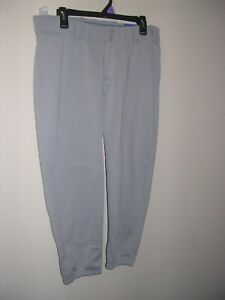 Women's Worth Fast Pitch /Softball Pants Gray Size Large New with Tags