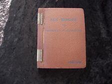 AIDE-MEMOIRE du MONTEUR ELECTRICIEN FORCLUM 1952 numéroté