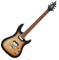 Cort KX300 OPRB Electric Guitar Mahogany Jatoba Fingerboard Open Pore Raw Burst