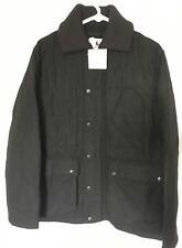 J.W. ANDERSON x UNIQLO 'JWA Wool-Blend Quilted' Men's Jacket M BLACK *NWT*