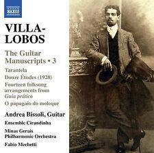VILLA- LOBOS : BISSOLI /ENSEMBLE CIRADINHA WORK FOR GUITAR NEW SEALED CD 2015