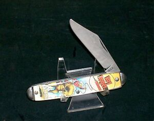 Colonial Character Knife Roy Rogers Master Brand Circa-1970's USA Made Rare