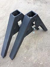 2 x Gerätedreieck Kat 1-2-3 Anschweißdreieck Schlepper Geräte ,Schlepperdreieck