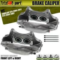 2Pcs Brake Caliper 4Pistons for Cadillac CTS STS Buick Regal FrontLeft&Right