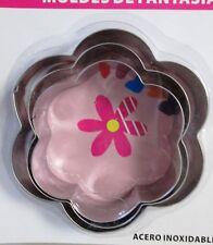 3 tlg Blume Ausstecher Cookie Cutter  Metall groß