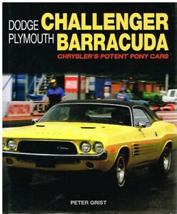 DODGE CHALLENGER & PLYMOUTH BARRACUDA (1964-74) DESIGN & PRODUCTION HISTORY BOOK