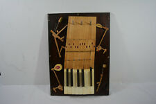 Reclaimed Vintage Aeolian Player Piano Key Rack Jewlery Rack 100 + Years, Piano
