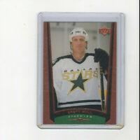 1998/99 Upper Deck UD Exclusives Brett Hull Parallel card 76 #'d 9/100 RARE HOF