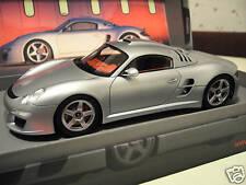 PORSCHE RUF CTR 3 Présentation 2007 argent o 1/18 SPARK 18S020 voiture miniature