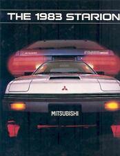 1983 Mitsubishi Starion Sales Brochure mx192-L4AJLO