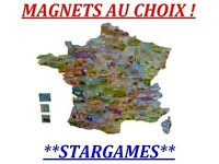 LE GAULOIS MAGNET AIMANT DEPART'AIMANTS / DEPARTEMENTS COLLECTION FRANCE ICI