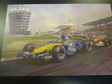 2005 Bahrain GP, Sakhir, Renault Fernando Alonso, door Michael Turner