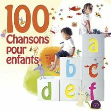 VARIOUS ARTISTS - 100 CHANSONS POUR ENFANTS NEW CD