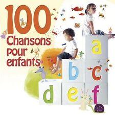 VARIOUS ARTISTS - 100 CHANSONS POUR ENFANTS NEW CD
