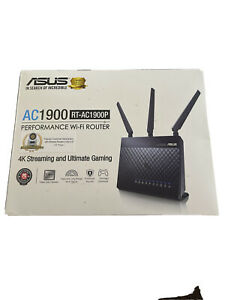 Asus RT-AC1900P AC 1900 Performance WI-FI Gigabit Streaming Gaming Router