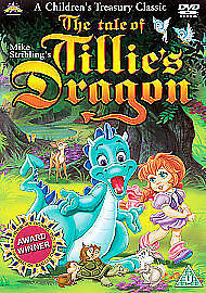 The Tale Of Tillie's Dragon (DVD, 2006, Animated) Factory sealed SKU 364