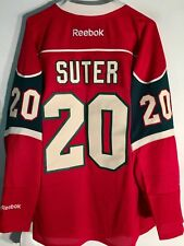 Reebok Premier NHL Jersey Minnesota Wild Ryan Suter Red sz M