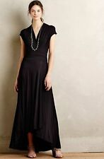 NWOT  XS Anthropologie Desert Star Maxi Dress Black By Maeve Size XS
