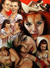 vampire lovers..ORIGINAL A.4 PRINT .BY rick melton.