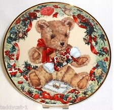 Franklin MINT raccoglie eller ~ Teddy 's First Christmas ~ di Sarah bengry