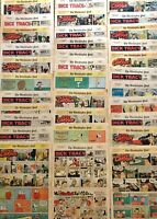 LOT 33 Sunday Color Comics Strips 1968 1969 60th Dick Tracy Etc Washington Post