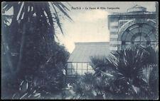 cartolina PORTICI la serra di villa campanile