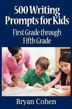 500 Writing Prompts for Kids by Bryan Cohen (2011, Paperback)