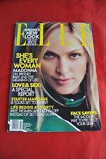 Madonna Elle February 2001 Fashion Celebrity Vintage Magazine