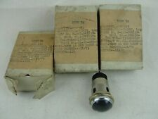 Vintage 1953 75 watt 125 volt Red Glass Light Indicator Warning Signal NOS