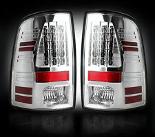 Recon CLEAR LED Tail Lights 264236CL 2013-2016 Dodge Ram 1500 2500 3500 Trucks
