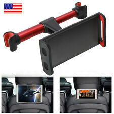 360° Rotating Car Back Seat Headrest Holder Stand Mount For Phone Tablet GPS USA