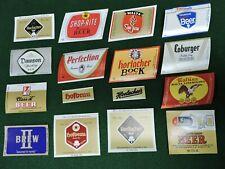 14 Differnt Horlacher / Old Dutch Brewing Co. Beer Bottle Labels Allentown, Pa.