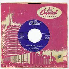 STAN FREBERG Banana Boat (Day-O)/Tele-Vee-Shun 7IN 1957 POP PARODY VG++