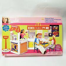 Barbie McDonald's Restaurant Playset 2003 Rare Set 47672 NRFB MINT