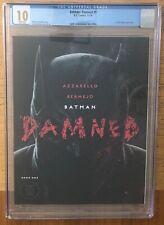 BATMAN DAMNED #1 UNCENSORED FIRST EDITION CGC 10.0 GEM MINT DC COMICS